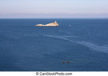 View On Scoglietto Di Portoferraio Island