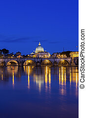 View on St. Peter's Basilica in Rome
