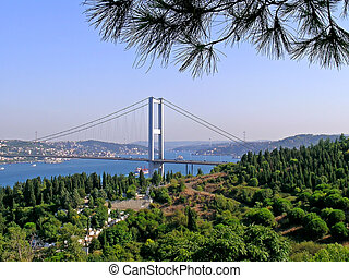 View on the Bosphorus strait