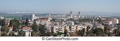 View on the city of Ramla . Israel