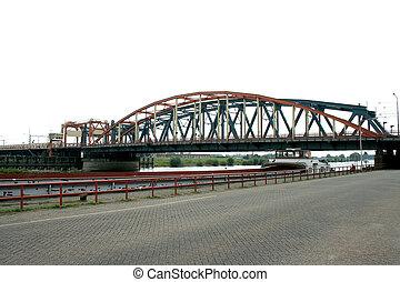 View on the IJssel bridge of Zutphen - Zutphen is a city in...