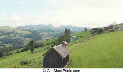 View on the picturesque alpine village.
