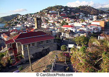 Capital of Grenada island city Saint Geotrge