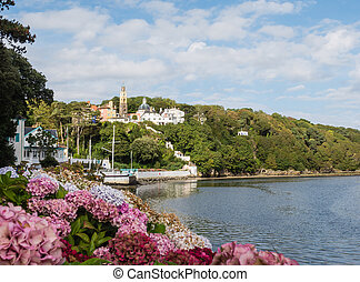 View on the town of Portmeirion