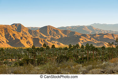 Palm Springs and San Jacinto Mountains