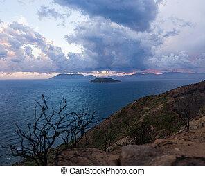 View on Zakynthos island