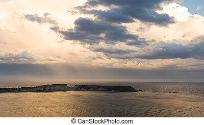 View on Zakynthos island from Gerakas
