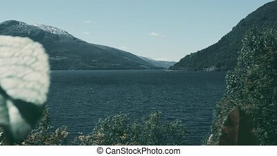 View Onto Norwegian Fjords - Graded and stabilized version....