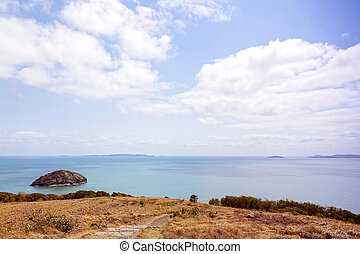 View Out To Sea From Tourist Lookout