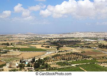 View over Malta