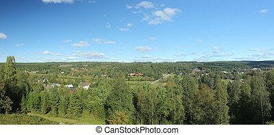 View Over Saelen