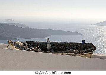 View over the Aegean Sea