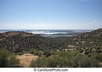 View over the Alqueva, Portugal