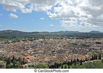 View over the city of Arta