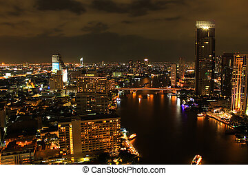 View over the city of Bangkok