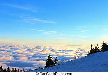 View Over The Clouds