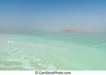 View over the Dead sea