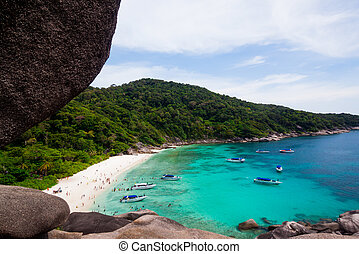 View Point at Similan island,Andaman Sea, Thailand