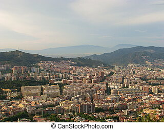 View to Barcelona