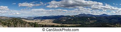 View to Beaverhead-Deerlodge National Forest near Helena