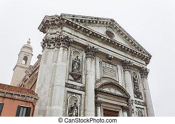 View to detail Church Il Gesuati or Church Santa Maria del ...