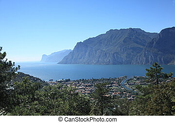 view to lake garda