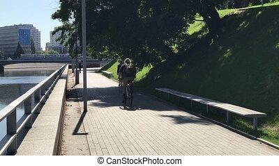 View to Ostrow Tumski, Wroclaw, Poland. - View to Ostrow...
