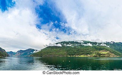 Sognefjord in Norway
