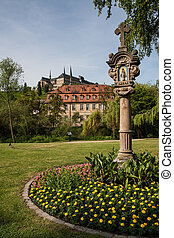 View to St. Michael Church in Bamberg
