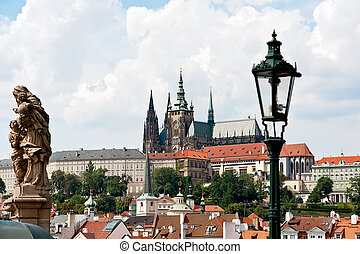 View to the Castle in Prague