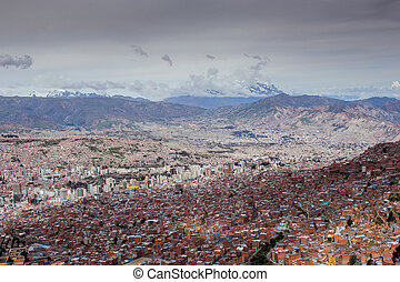 View to the Lapaz