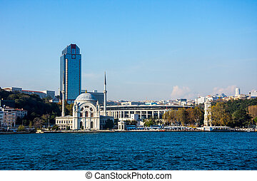 view to the Ortakoy mosque