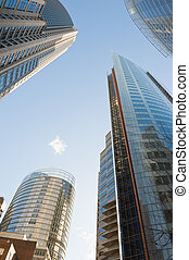 skyscrapers of Sydney