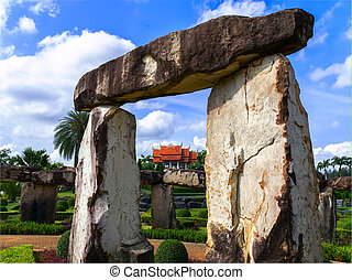 View to Wat from Stone Henge. - View to Wat from Stone Henge...