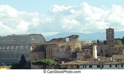 View upon Roman Coliseum