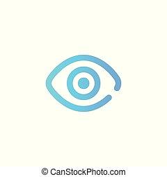 view vector icon sign symbol