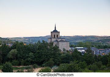 Viewe of the Church of San Nicola da Bari, Molinaseca