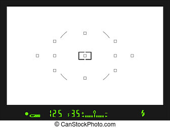 viewfinder 4B - Place or insert your text or picture behind ...
