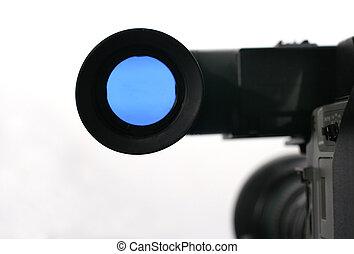 viewfinder, fototoestel, studio