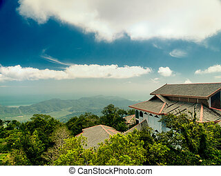 Viewpoint at the Langkawi island. Malaysia - View from the...