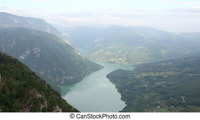 viewpoint mountain landscape - viewpoint Banjska stena Tara ...