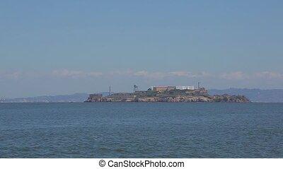 Viewpoint of Alcatraz Prison