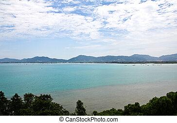 Viewpoint Phuket Town, Thailand.