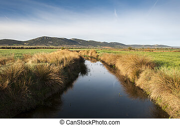 Arroyo de la Becea - Views of Arroyo de la Becea. It is an ...