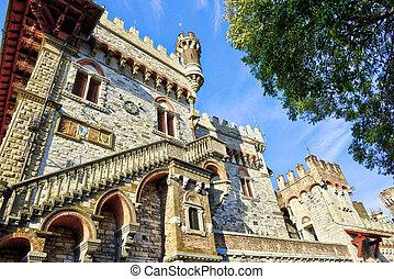 Views of Genoa city, Italy, Trabel Europe,