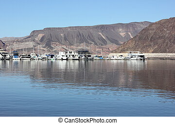 lake mead marina, april 2013 - views of lake mead marina, ...