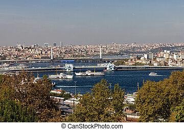 Views of the Bosphorus, Istanbul, Turkey