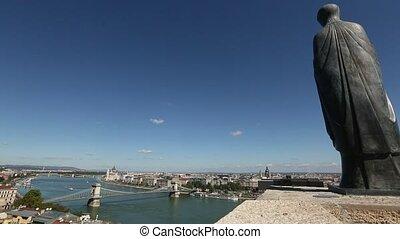 Views of the river Danube
