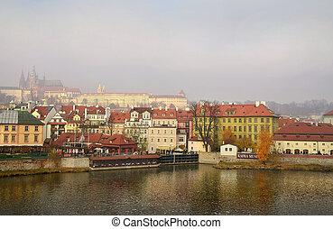 splendid Prague in the early morning