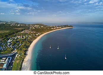 Views over Shoal Bay Port Stephens - Sweeping views over...